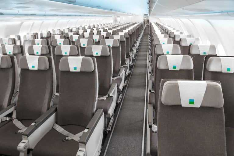 Airbus A330 - wirtschaftliches Interieur