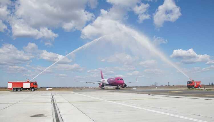 A doua aeronavă Wizz Air a ajuns la Craiova