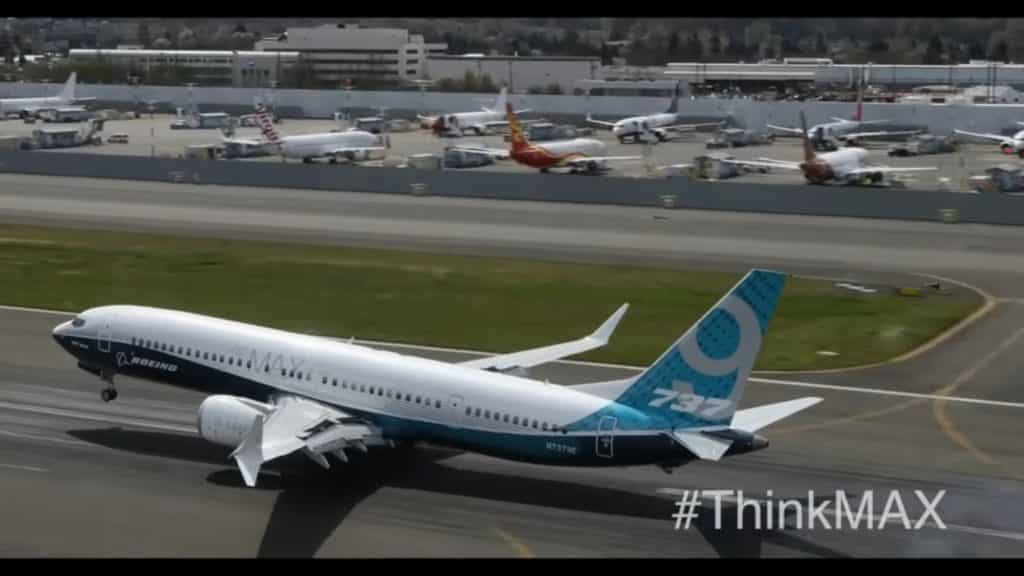 Boeing-MAX-737 9-первых пролетной 3