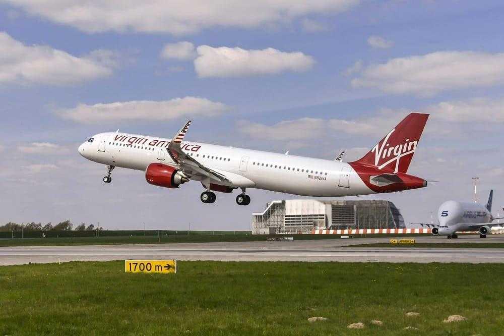 Airbus A321neo Virgin America