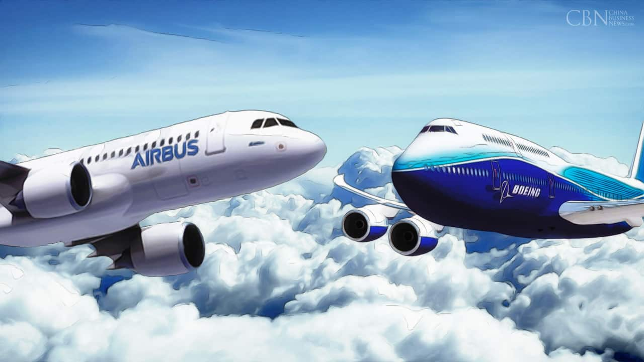 airbus v boeing Airbus has claimed to have edged ahead in its battle with rival boeing last year as it won orders for more than 1,000 new planes, although boeing made and delivered more aircraft the aircraft.