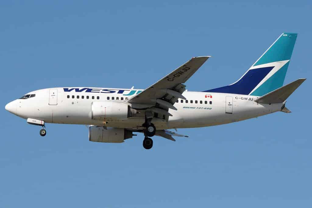 Boeing 737-600-WestJet