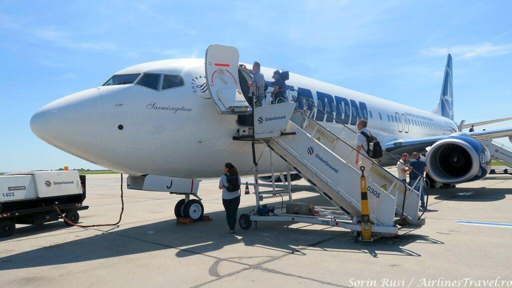 Boeing-737 800 TAROM Bucarest