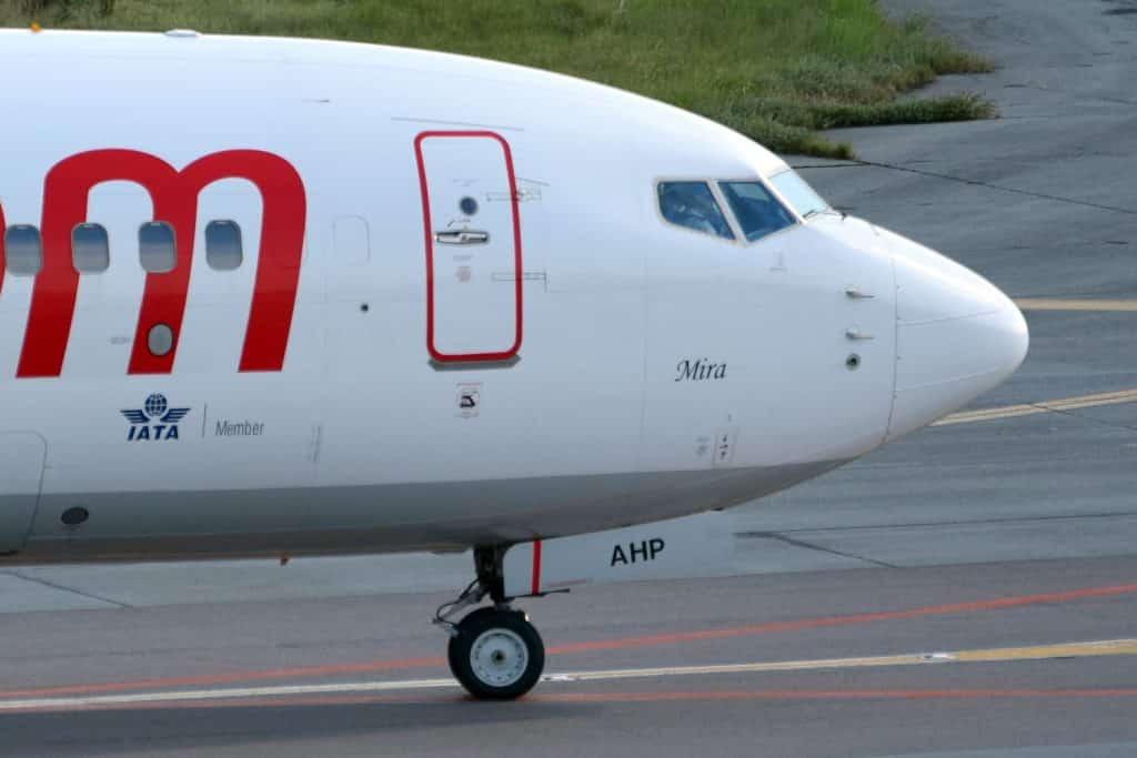 quatre roues Boeing-737