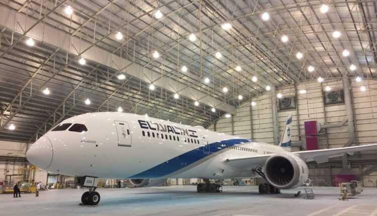 Boeing Dreamliner 787-9-2 el al