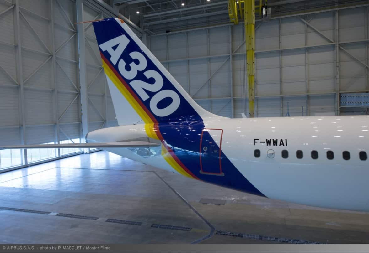 Airbus A320-F-WWAI-first