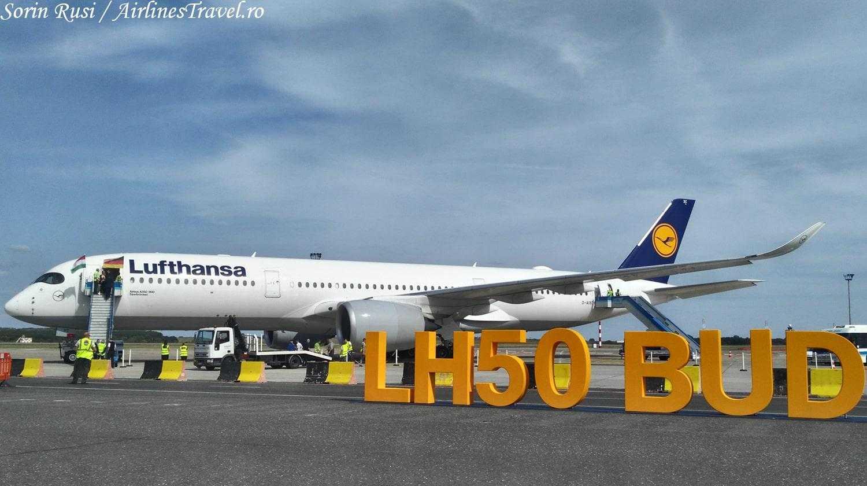 Airbus-A350-Lufthansa-Budapesta