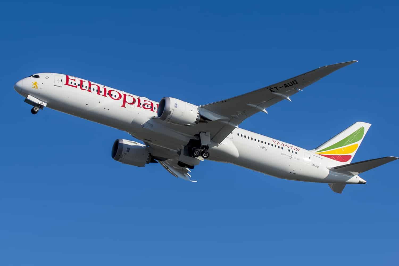Boeing 787-9 Ethiopian Airlines Dreamliner