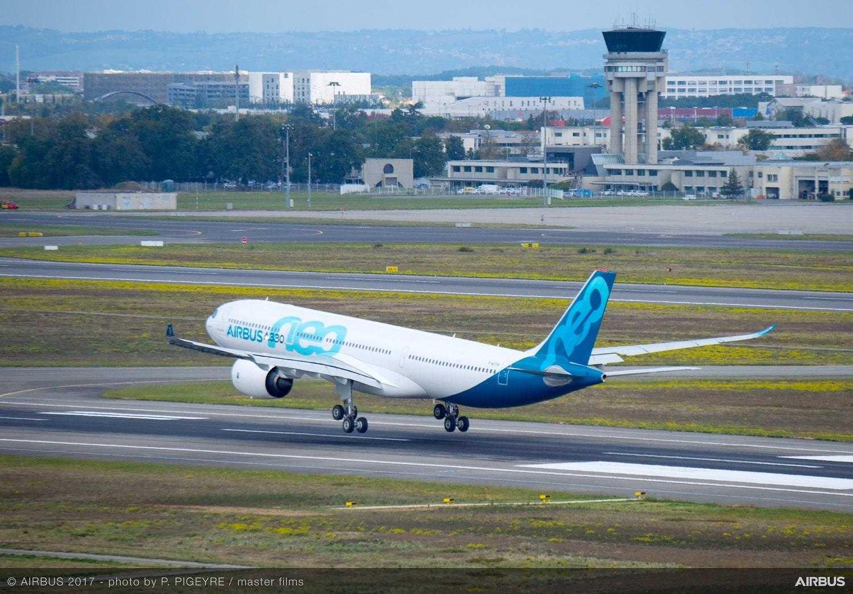 A330neo-ПОСАДКА