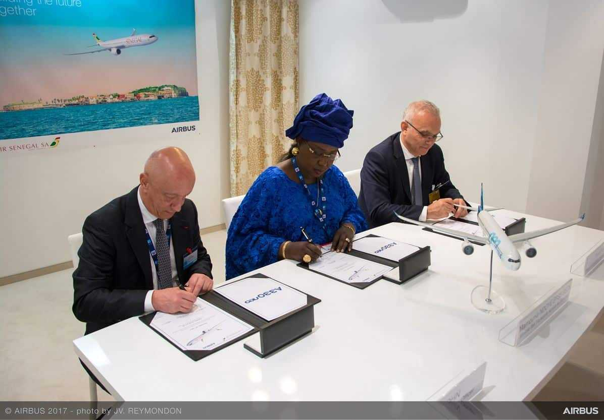 AIRBUS-Air Senegal agree