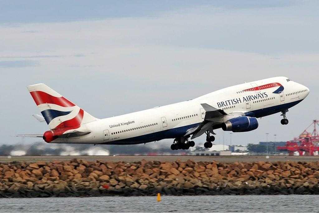 British Airways Boeing-747-400
