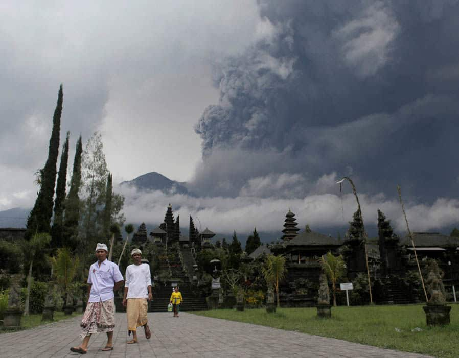 éruption bali-1
