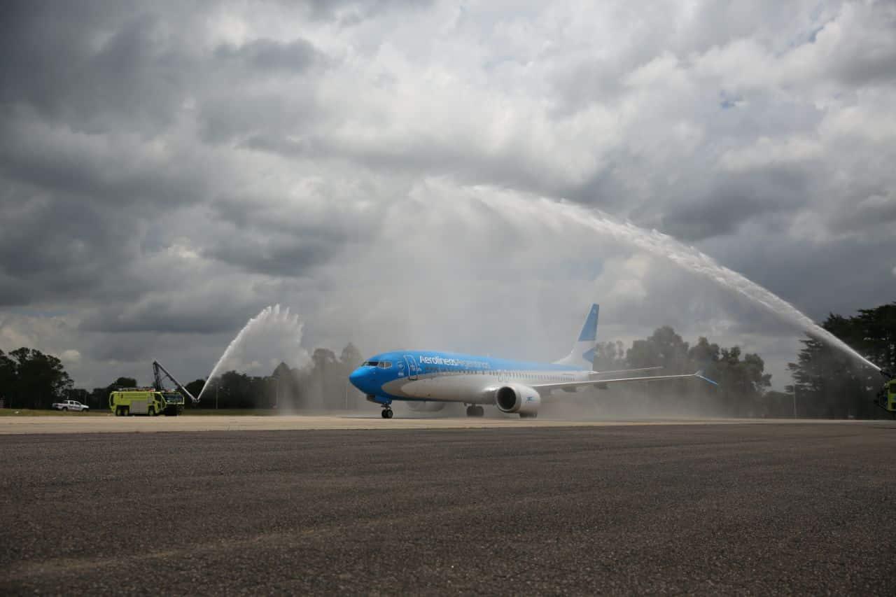 Boeing-max-737 8-Aerolineas Argentinas,