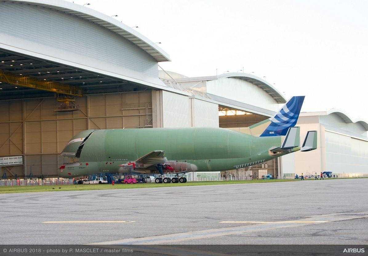 Airbus Beluga-XL-assemblato