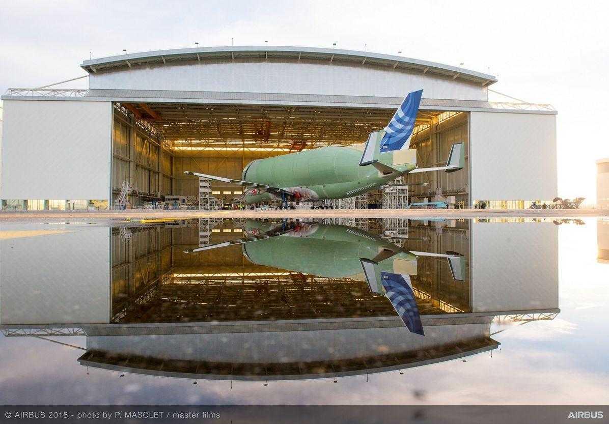 Airbus Beluga-XL-estrutura de montagem