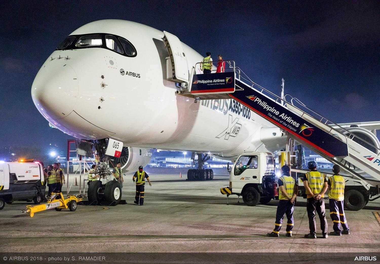 Demo-A350-1000-001 giro Manila