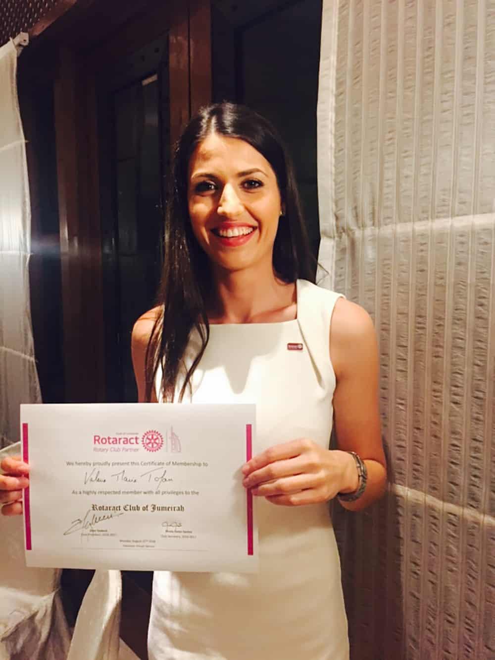 Maria-Valeria-Tofan-Auszeichnungen