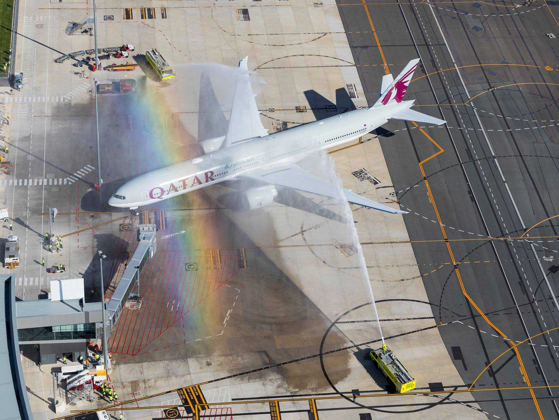 Qatar-Airways-touchdown-Canberr-inaugurare-1