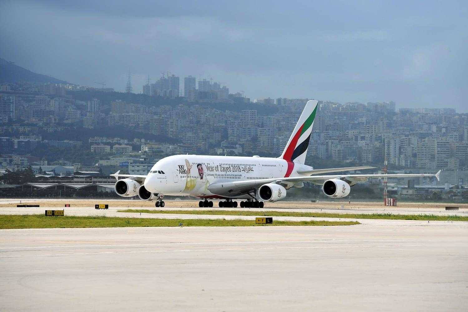 Airbus A380-Unis-Beyrouth