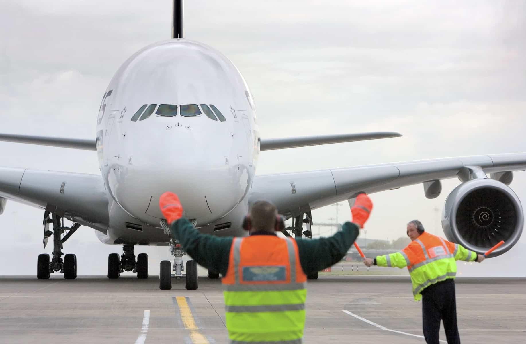 Airbus A380-Heathrow