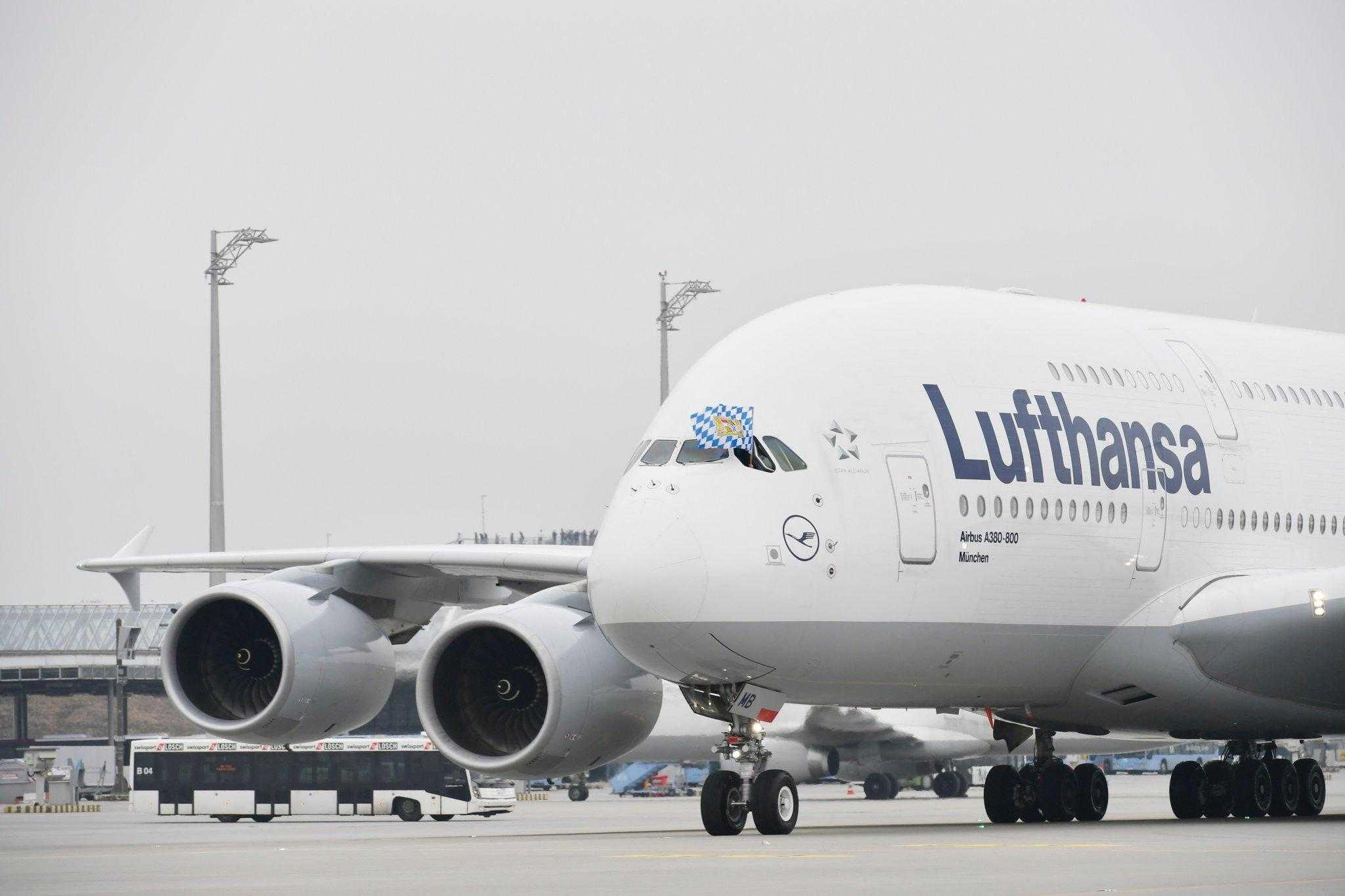 Airbus A380-Lufthansa-München-1