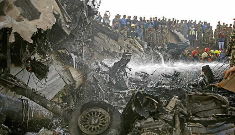 incidente-DHC-8-2 Kathmandu