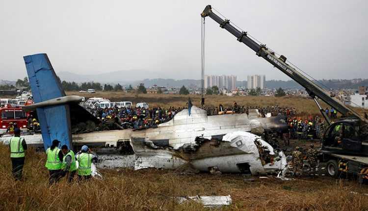 incidente-DHC-8-5 Kathmandu
