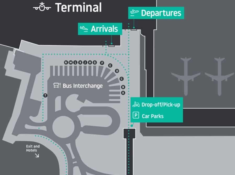 nouveaux-arrivées-départs terminal Londres-Luton