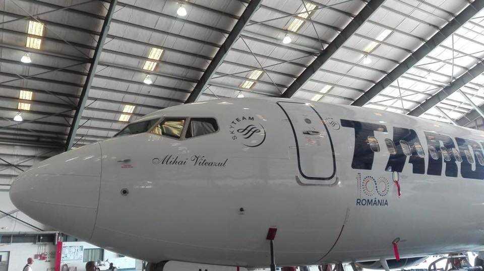 Boeing 737-800 TAROM-YR-BGM