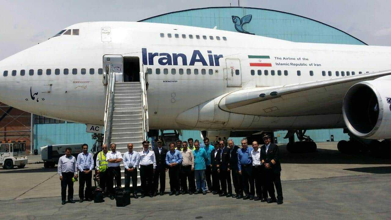 Boeing-747SP-Iran-Air-2