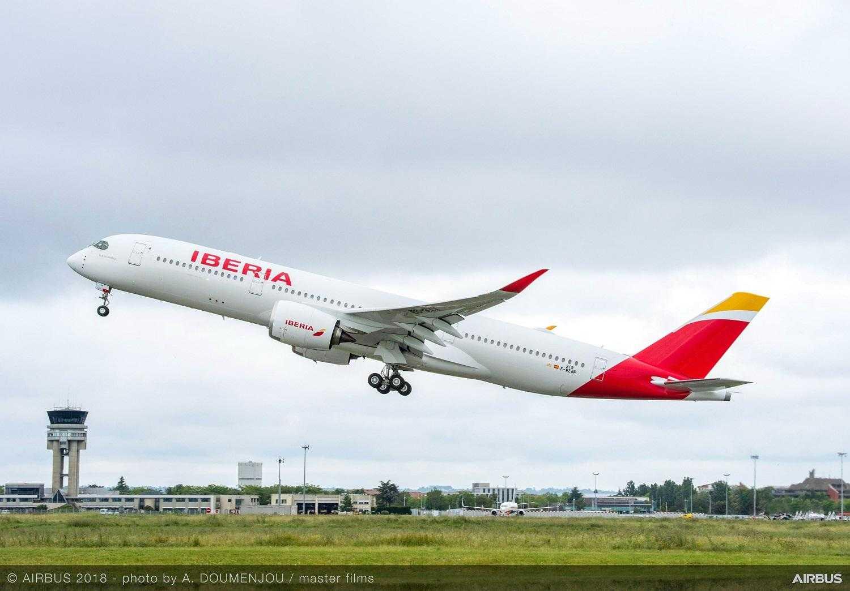 A350-900-Iberia-take-off