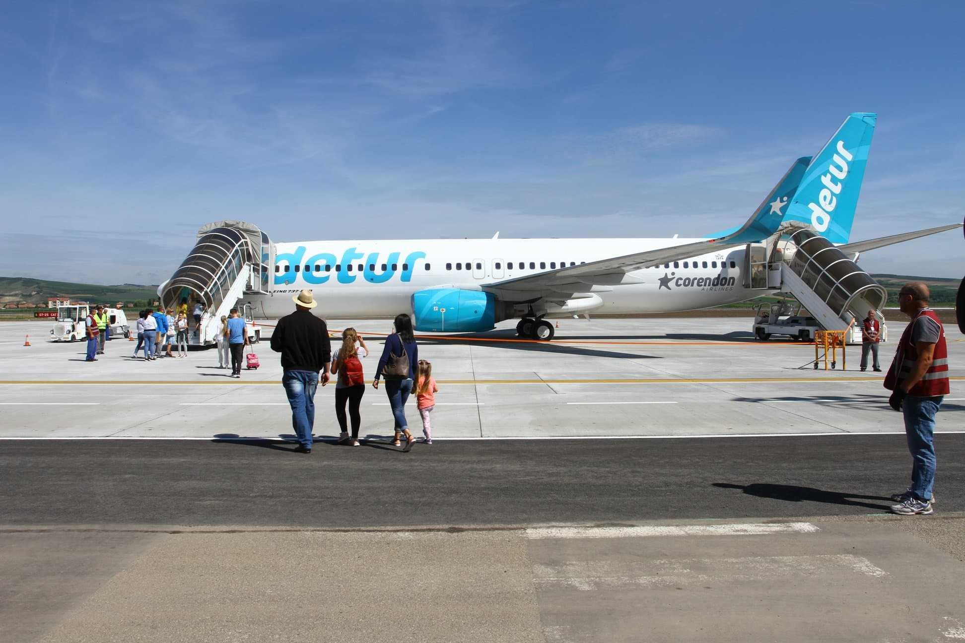 Öffnungs-Flughafen-Targu Mures