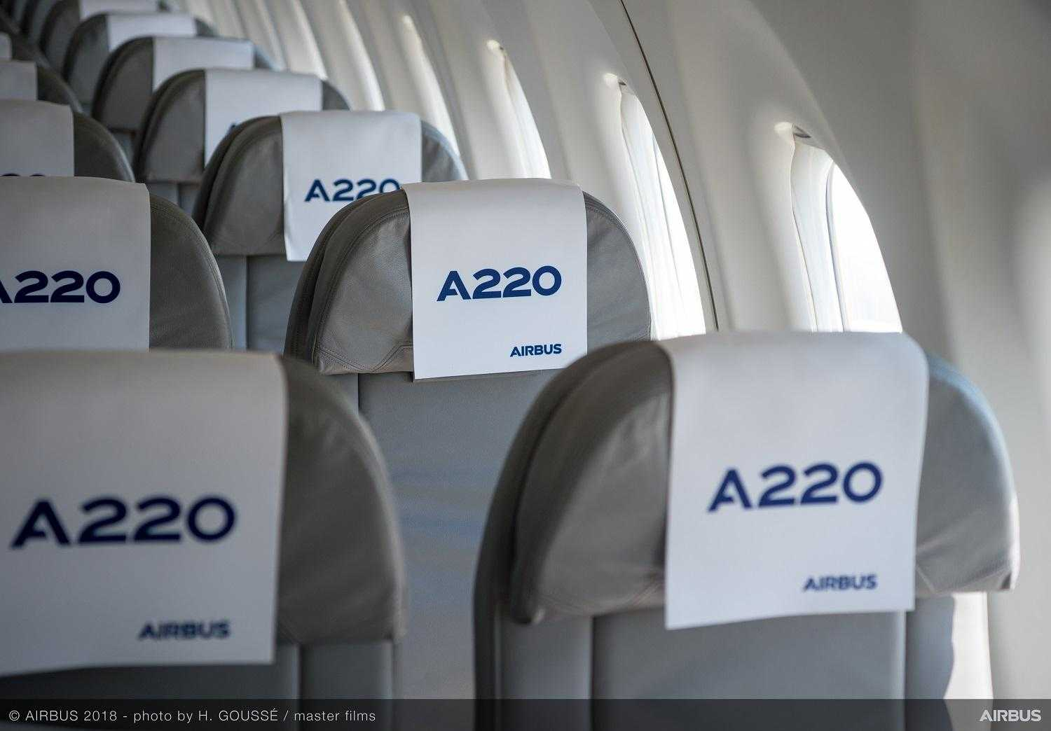 Airbus A220-300-interno