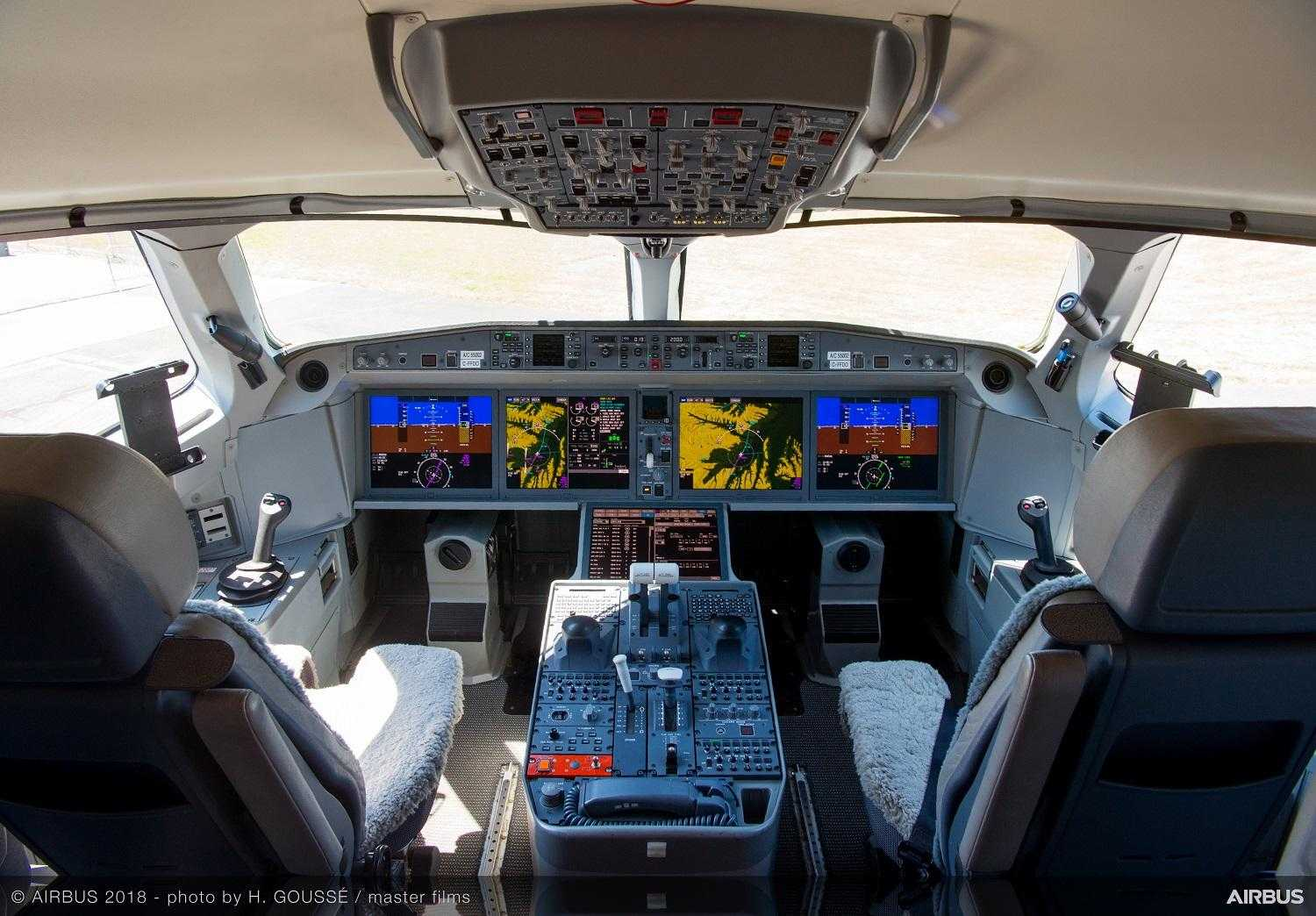 Airbus A220-300-cabina