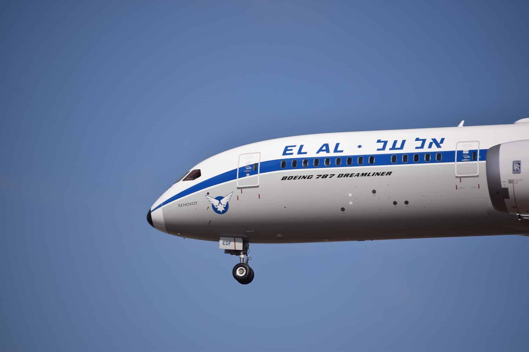 Boeing 787-9-EL-AL-retro görünümü