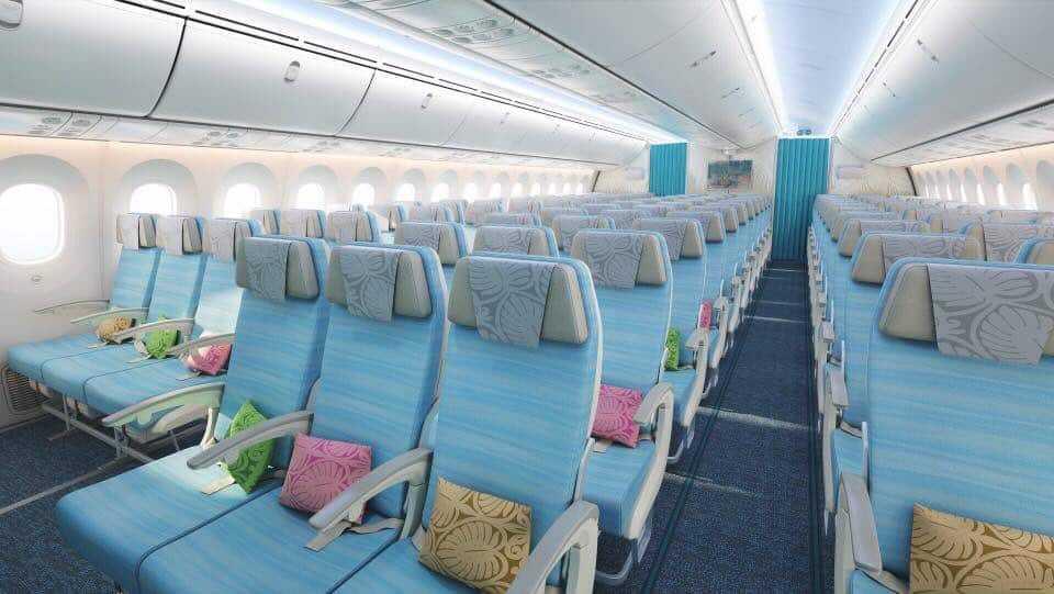 Air Tahiti Nui, 787-interior-Boeing