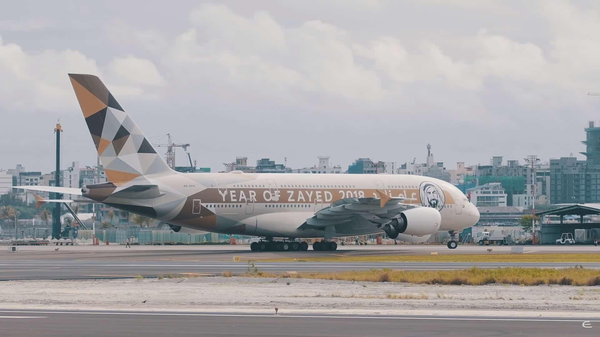 Airbus-A380-Etihad-Airways-Maldive