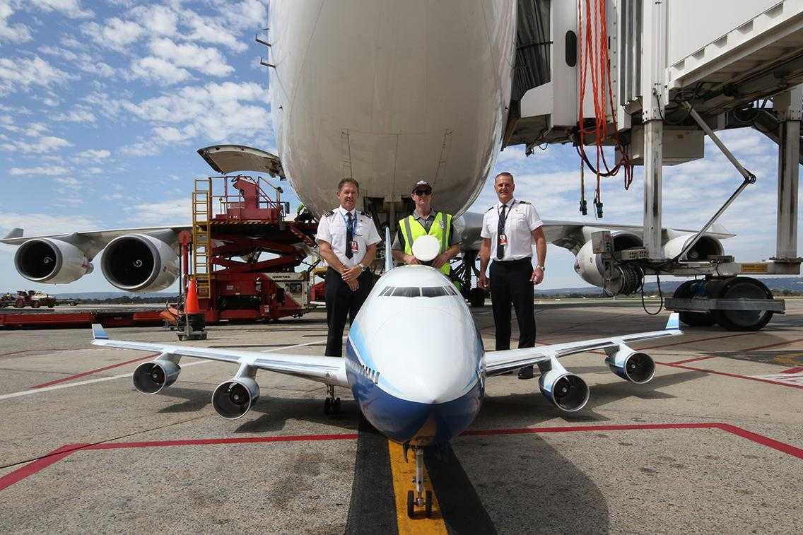 Boeing RC-747-747-2-Qantas