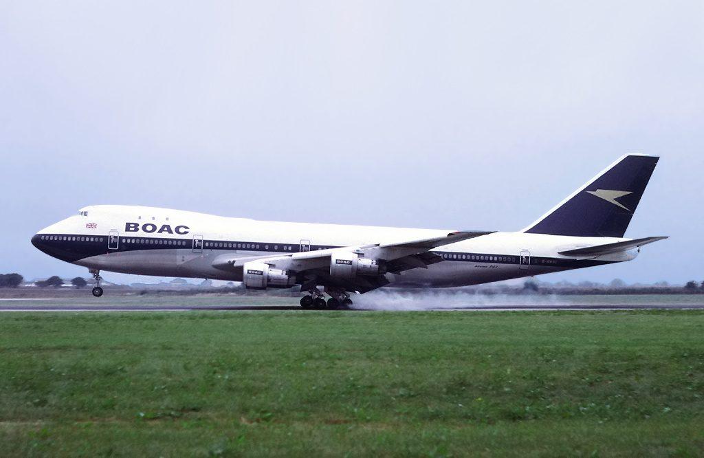 747-BOAC Boeing