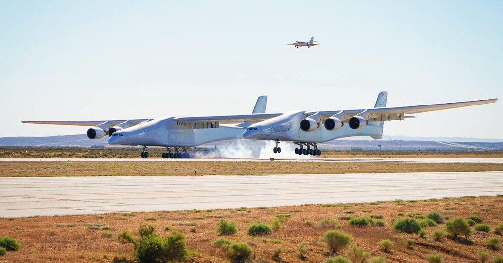 Atterrissage stratolaunch