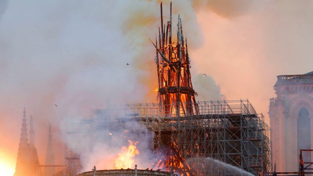 cathedral, Notre-Dame-paris-fire