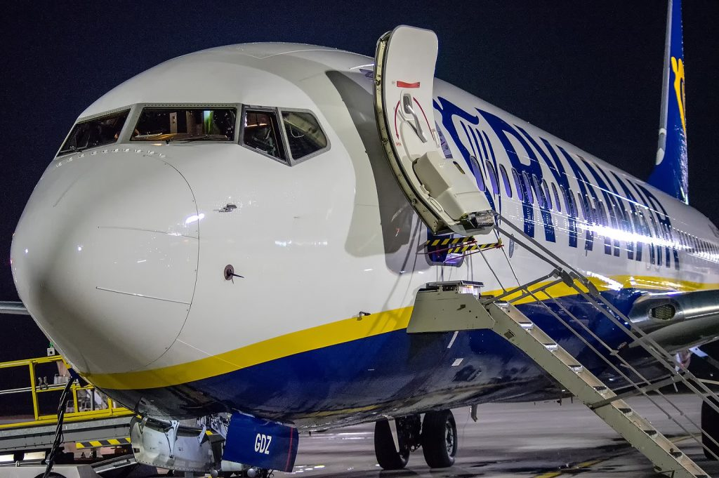 opening Cluj-London-Ryanair