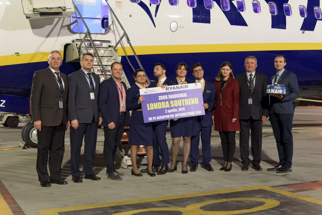 Cluj-opening-Ryanair London-2