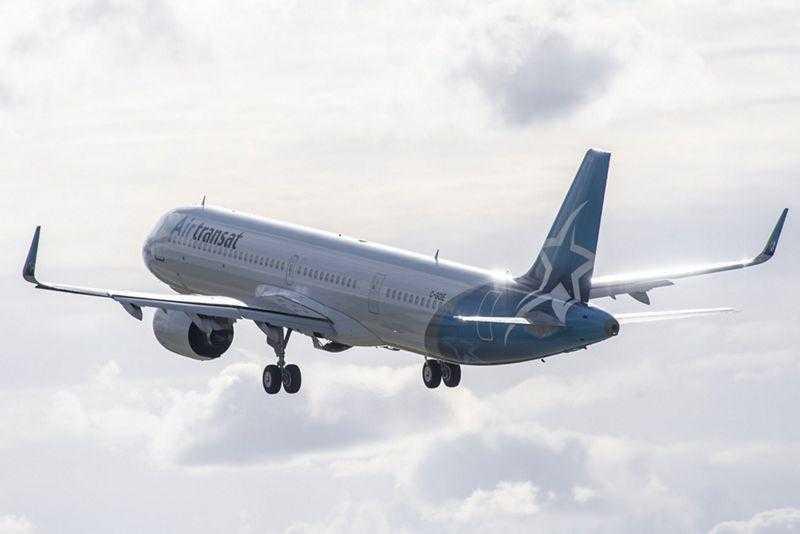 Airbus A321LR-Air-Transat