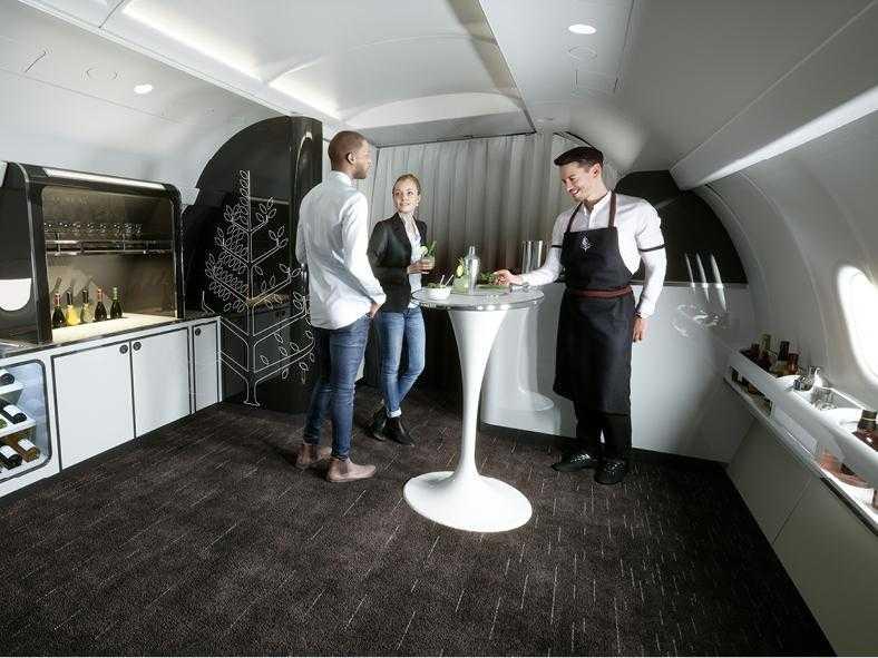 Airbus A321LR-dört mevsim-salon