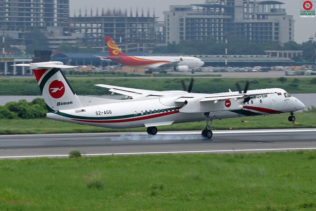 S2-AGQ-Biman Bangladesh Airlines-De-Havilland Canada DHC--8-40,