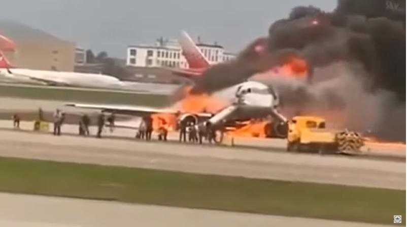 despejados passageiros-acidente-Sukhoi-SuperJet-Aeroflot