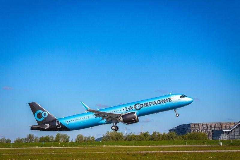 Airbus A321neo-La Compagnie runways