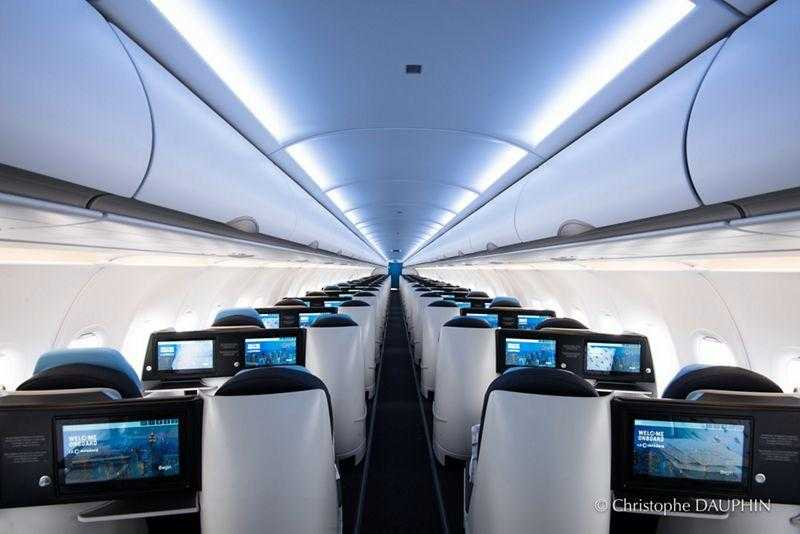 Airbus A321neo-La Compagnie interno-1
