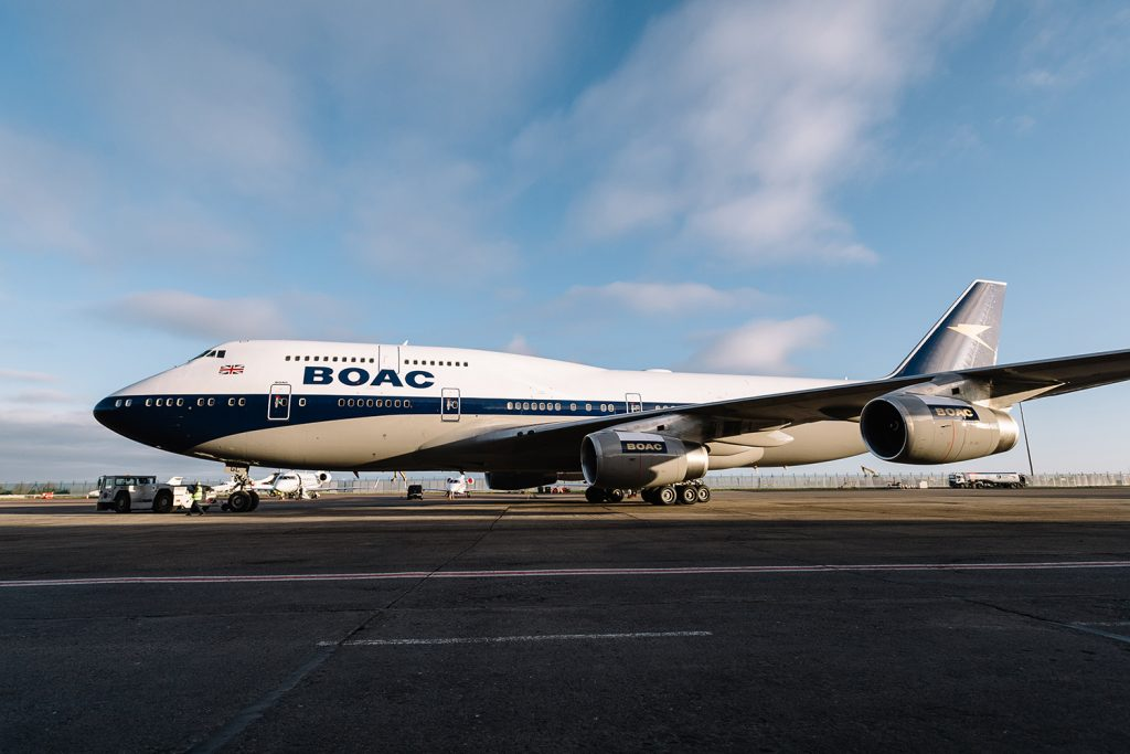 British Airways - BOAC NADA